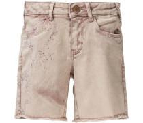 Shorts für Mädchen beige / rosé