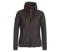 Jacket 'Tittis Galore' braun / schwarz