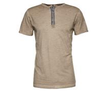 T-Shirt 'MT Arena button' sand