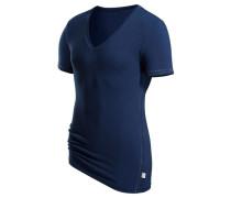 V-Shirt blau
