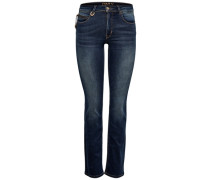Straight Fit Jeans Ella Reg blau