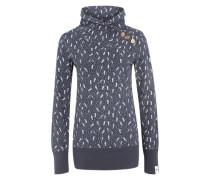 Sweatshirt 'Nest A Organic' navy / weiß