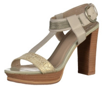 Sandalen beige / gold