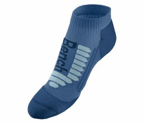 Sport-Sneakersocken (2 Paar) dunkelblau