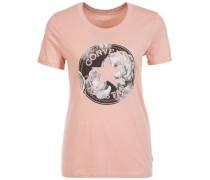 Floral CP Fill Crew T-Shirt Damen pink