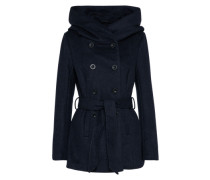 Übergangsmantel 'onlMARY Lisa Short Wool Coat' dunkelblau
