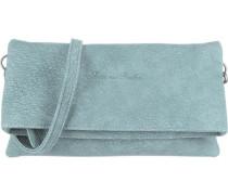 'Ronja Clas' Abendtasche blau / rauchblau