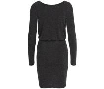 Kleid mit langen Ärmeln Glitzer- schwarz