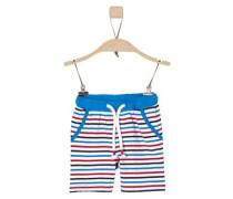 Gestreifte Jersey-Shorts blau / rot / schwarz / weiß