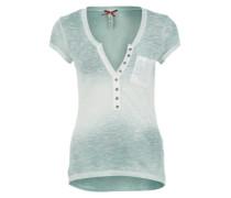 T-Shirt 'Debby' blau / grün