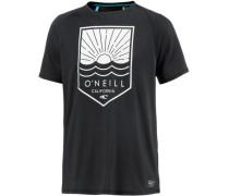 Element Hybrid T-Shirt Herren schwarz