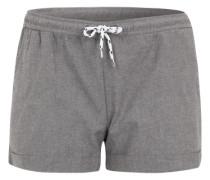 Shorts in feiner Melange-Optik graumeliert