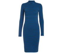 Kleid mit langen Ärmeln blau