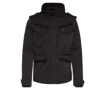 Winterjacke 'major' schwarz