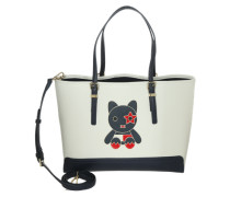 Shopper 'Honey Medium Tote Mascot' offwhite