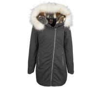 Mantel grau / weiß