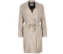 Kurzmantel im Trenchcoat Style beige