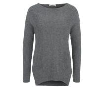 Oversized Pullover grau