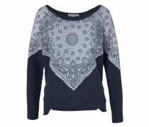 Sweatshirt navy / rauchblau