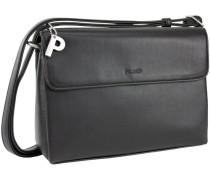 Full Handtasche 26 cm schwarz
