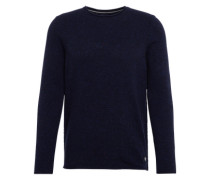 Pullover 'crew neck 80 WO 20 PA' navy