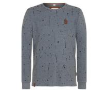 Sweatshirt 'Nordschleife made men' dunkelgrau / schwarz