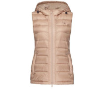 Weste 'haley Down Vest' rosa