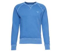 Sweatshirt in dezenter Used-Optik blau