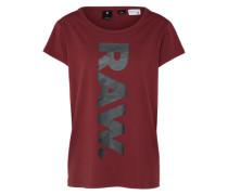 T-Shirt 'Danarius' weinrot