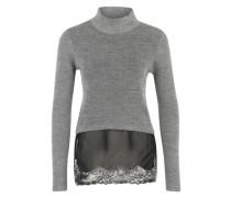 Pullover 'Kenan' grau / schwarz