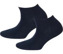 2er Packung Socken blau
