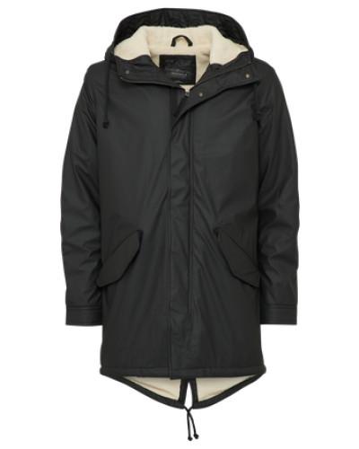 Warme Jacke schwarz