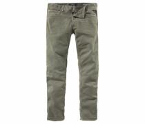 Straight-Jeans 'Grover' khaki