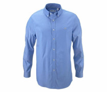 Button-Down Hemd blau