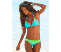 Triangel-Bikini blau / grün