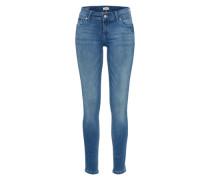 Jeans 'mid Rise Skinny Nora Bablst' blue denim