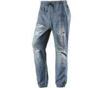 Anti Fit Jeans Damen 'Lazy' blau