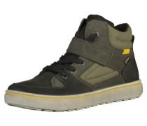 Sneaker oliv / schwarz