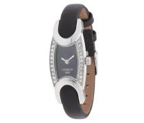 Armbanduhr 'cro015B222A' schwarz
