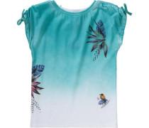 T-Shirt Kisama für Mädchen blau / hellblau / orange / rosa / weiß