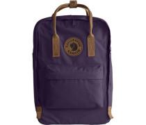 'Kånken No. 2' Daypack braun / dunkellila