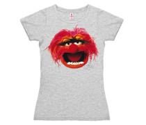 """T-Shirt """"Das Tier"""" grau"""