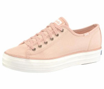 Plateausneaker 'Triple Kick Shine' rosa