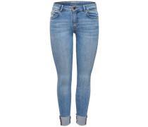 Skinny Fit Jeans 'Carmen Reg Cropped' hellblau