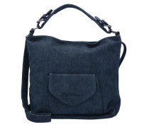 Hobo-Tasche 'Edina' blau / dunkelblau