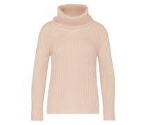 Pullover aus Mohair-Mischung rosa