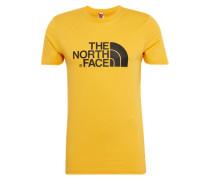 Printshirt 'Easy' limone / schwarz