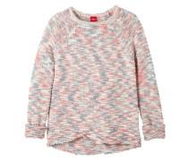 Pullover aus Bändchengarn mischfarben
