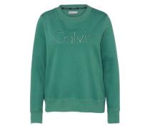 Sweatshirt 'hondi Calvin' smaragd