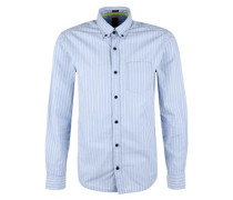 Gestreiftes Button-Down-Hemd